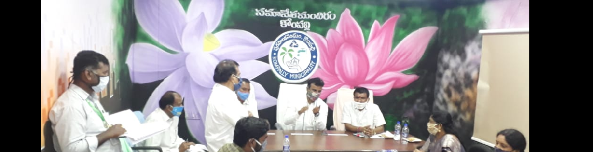 Kompally Municipality 5th Council meeting held on 03.10.2020 addressed by Sri.KP Vivekanand Garu  MLA